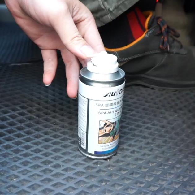 SPA空調抑菌內裝除味噴劑 2